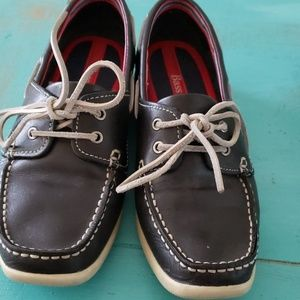 Bass Waverly Vintage Boat Shoes Blue